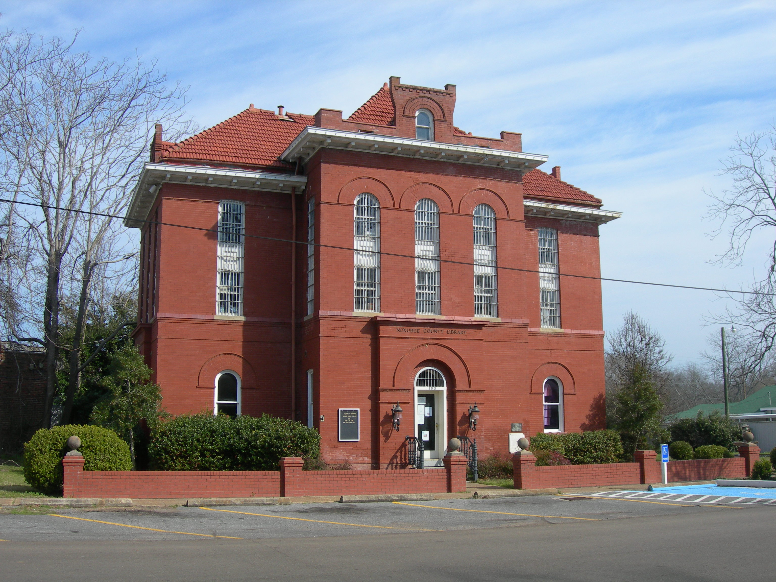 Macon Mississippi haunted Noxubee County Jail Public Library ghosts miraculous vision