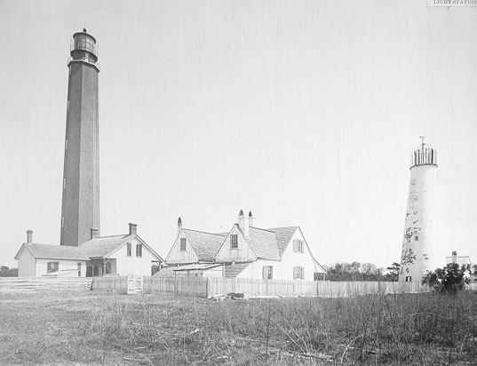 haunted Cape Romain Lighthouses early 20th century ghost