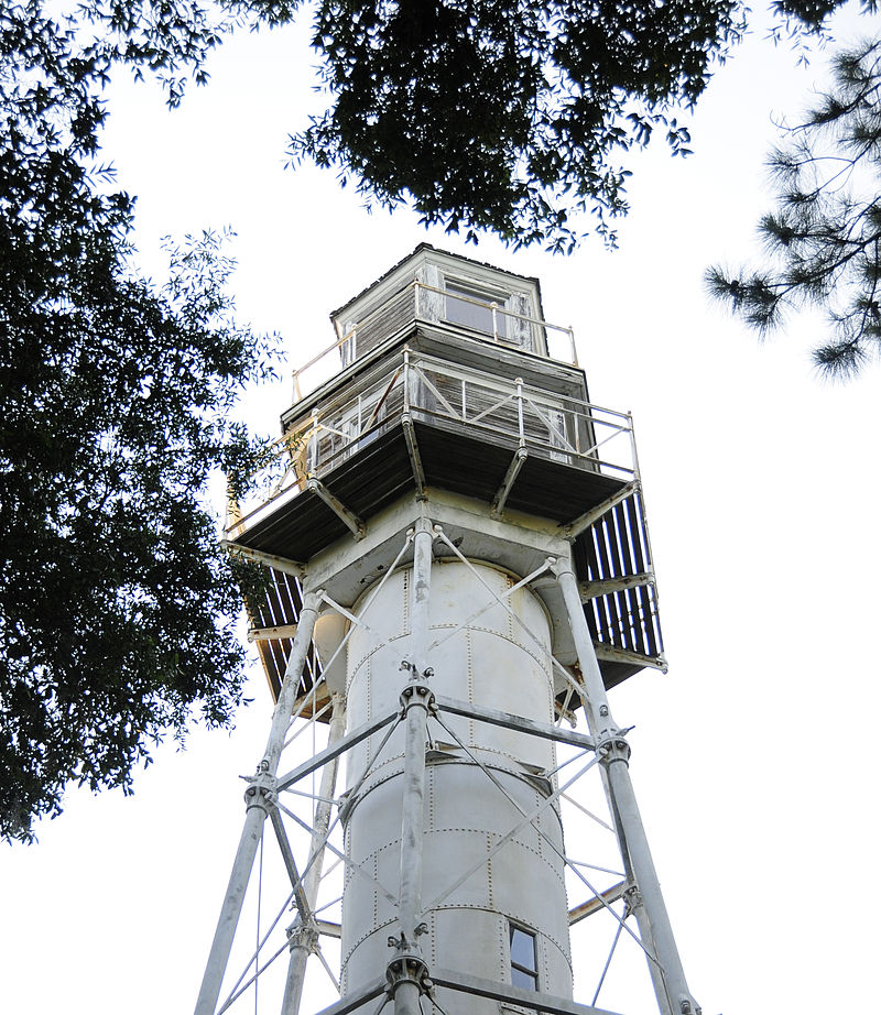 haunted Hilton Head Rear Range Light ghosts lighthouses Arthur Hills Golf Course