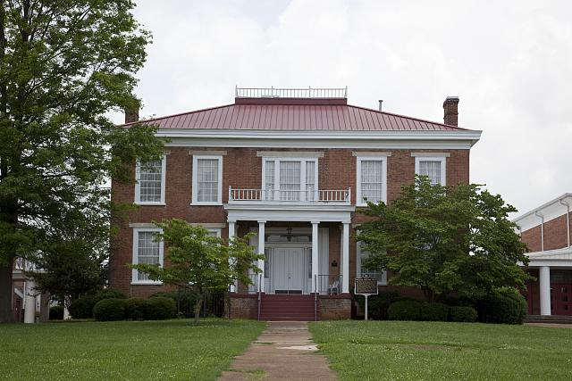 1874 Alabama tornado ghost haunt William Winston House Judith Winston victim Tuscumbia haunting Deshler High School