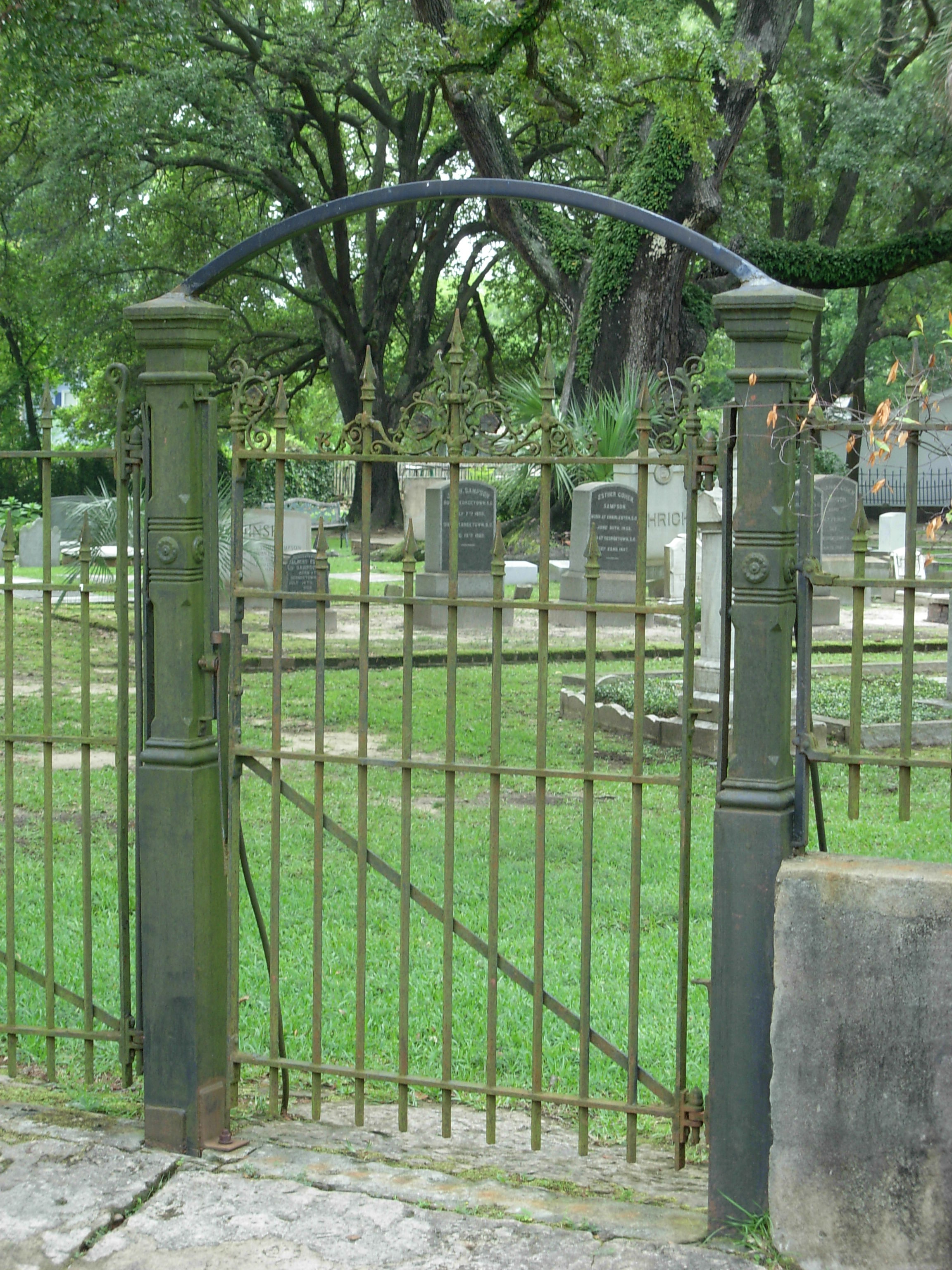 Beth Elohim Cemetery Georgetown South Carolina ghosts haunted