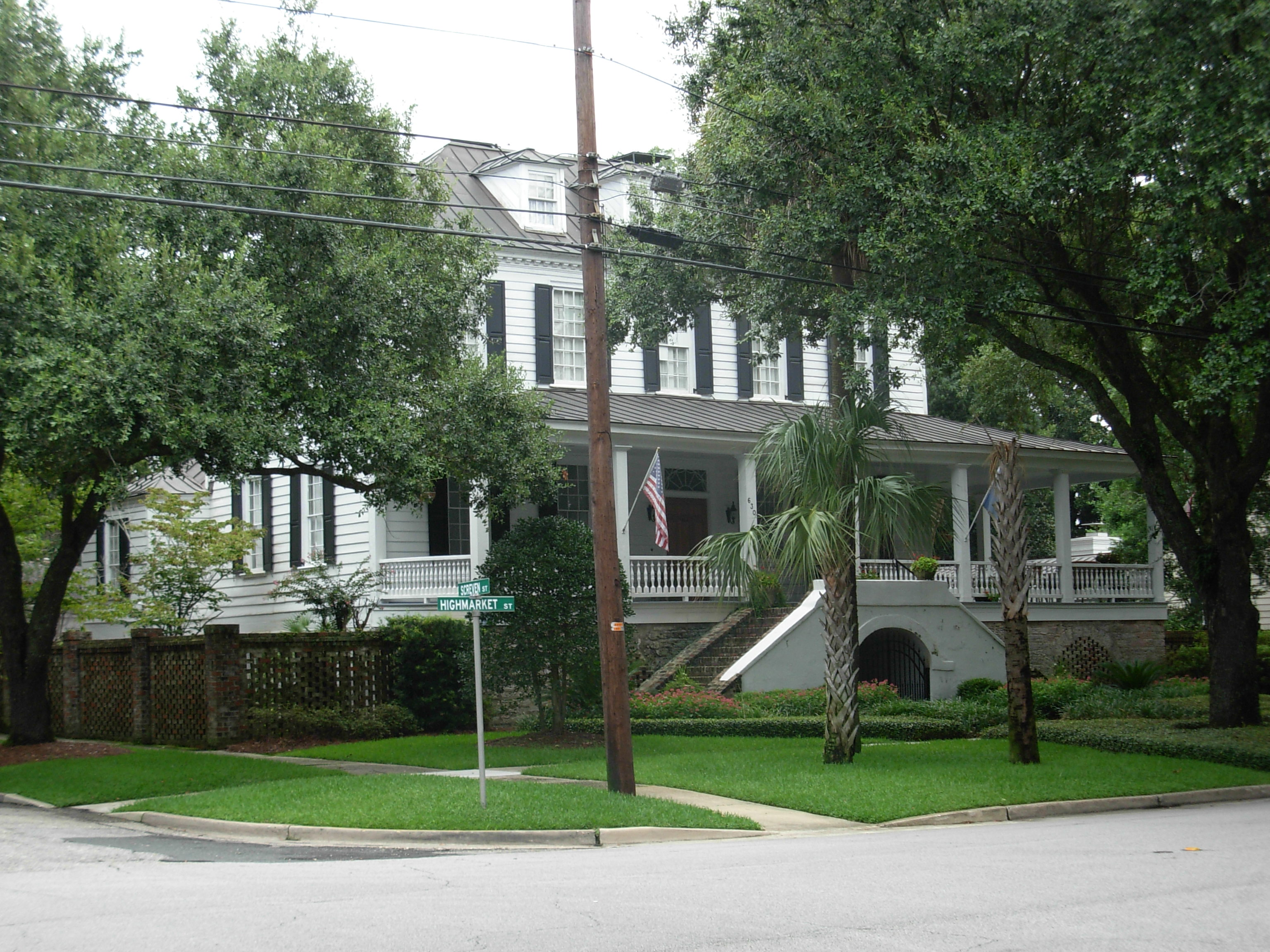 Pyatt-Doyle House Georgetown South Carolina ghosts haunted