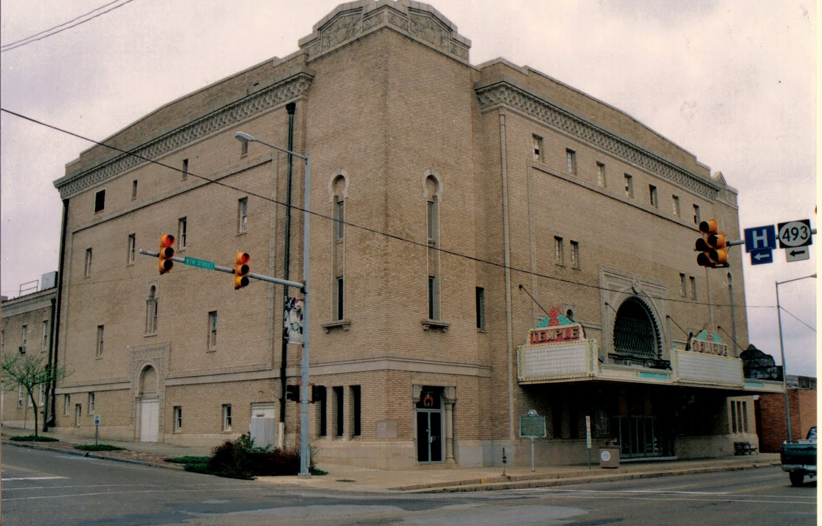 Temple Theatre Meridian Mississippi