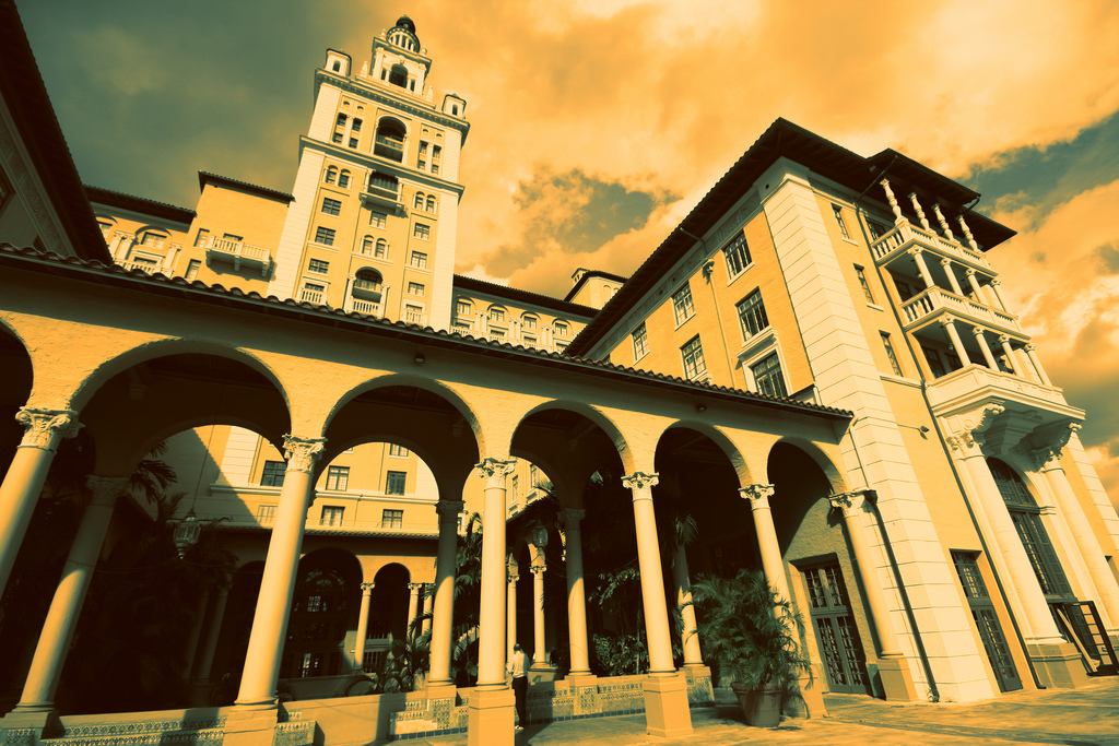 Biltmore Hotel Coral Gables Florida ghosts haunted
