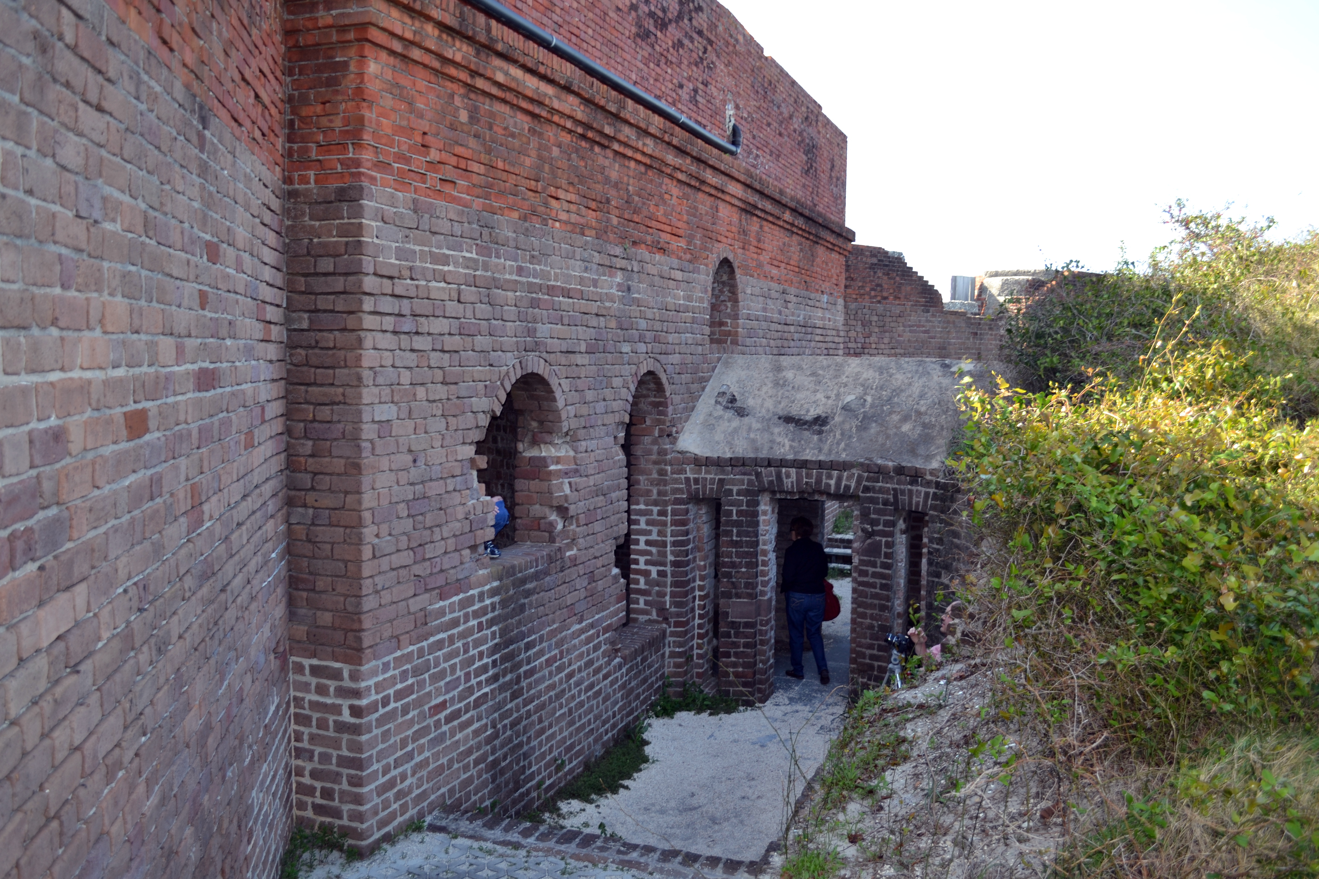 bastion Fort Clinch Fernandina Beach Florida ghosts haunted