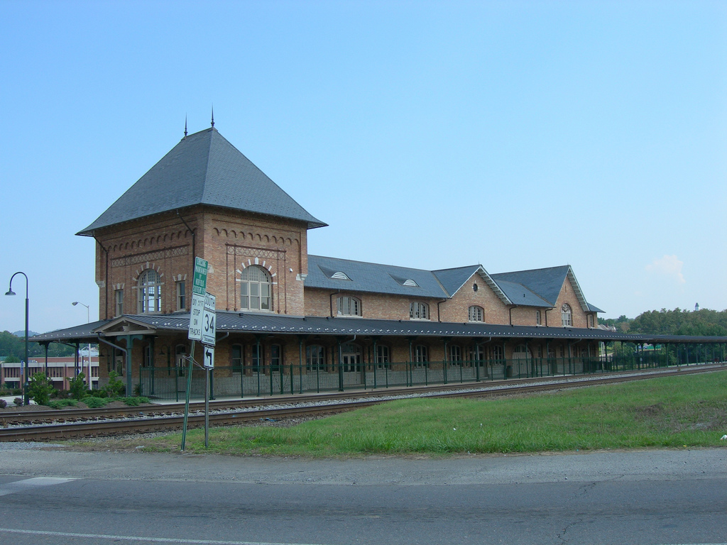 haunted Bristol Train Station Virginia ghosts