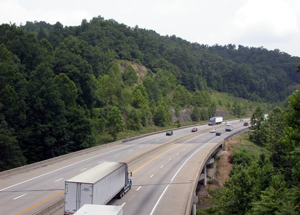 ghostly hitchhiker haunted West Virginia Turnpike