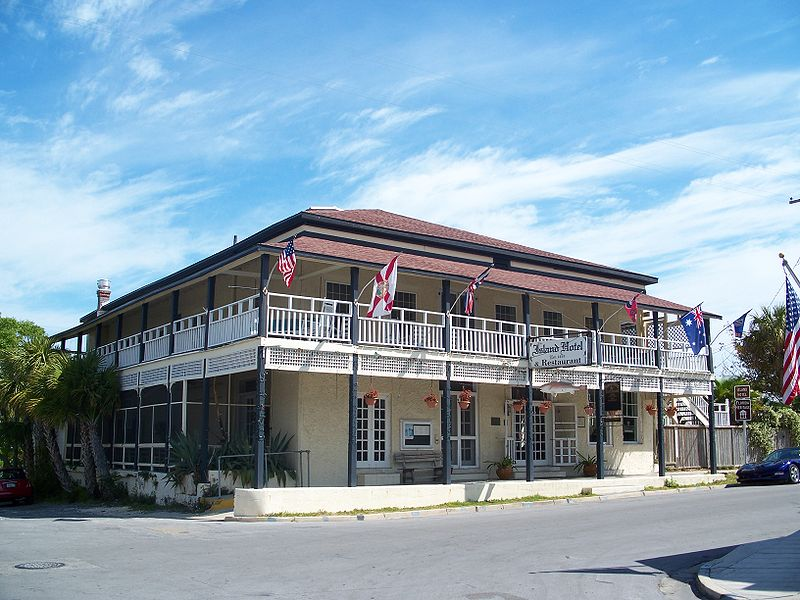 Island Hotel Cedar Key Florida ghosts haunted