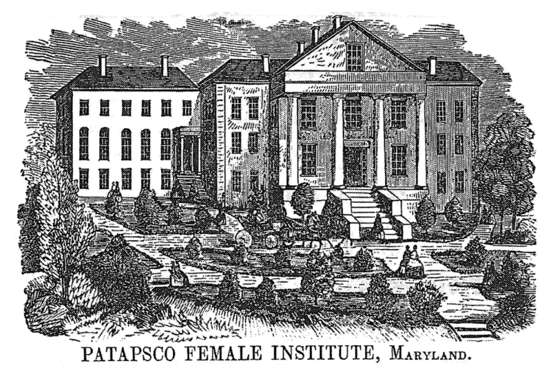 Patapsco Female Institute Ellicott City Maryland