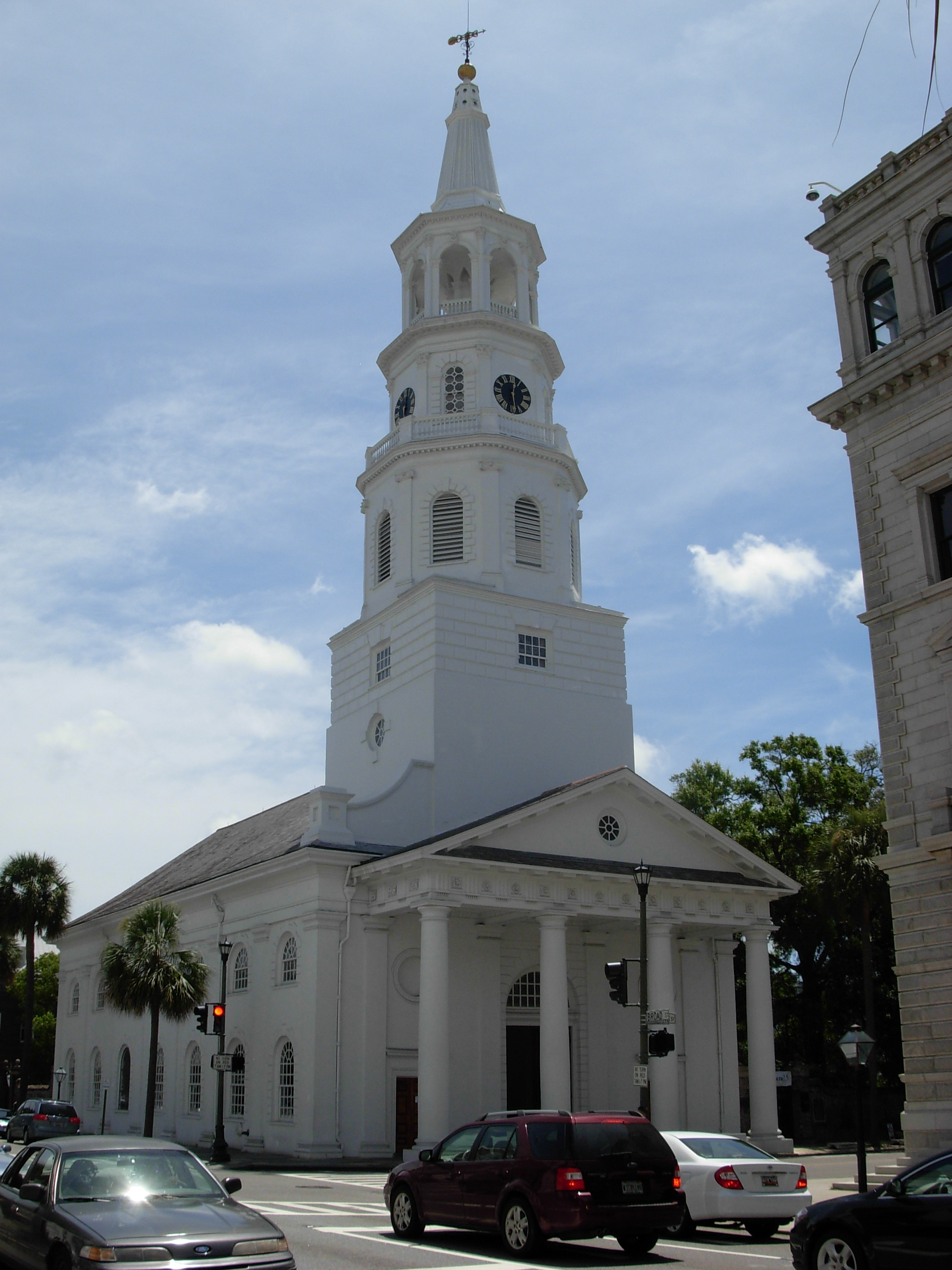 St Michael's Episcopal Church Charleston SC ghosts haunted