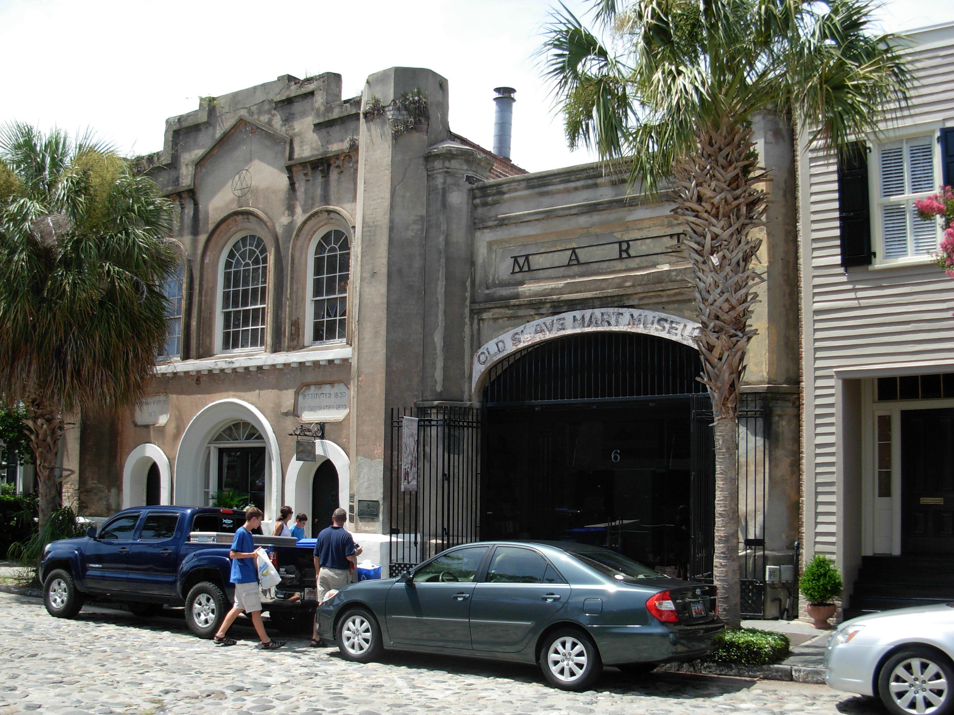 Old Slave Mart Museum Charleston SC ghosts haunted