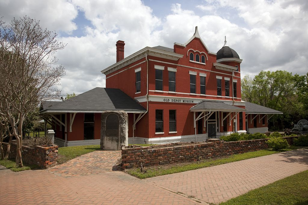 haunted Old Depot Museum Selma Alabama ghosts
