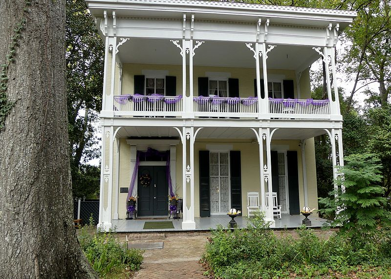 haunted McRaven House Vicksburg Mississippi