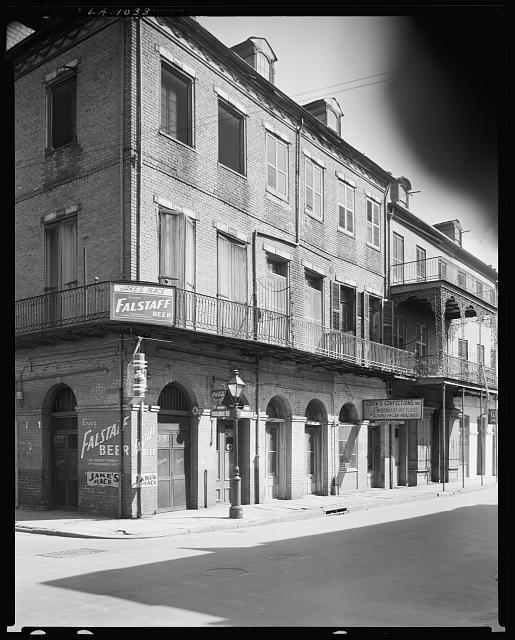 Gally House French Quarter New Orleans Frances Johnston