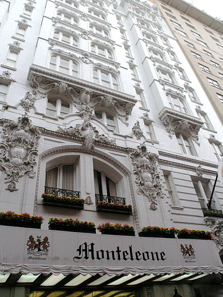 Hotel Monteleone French Quarter New Orleans Louisiana ghosts haunted