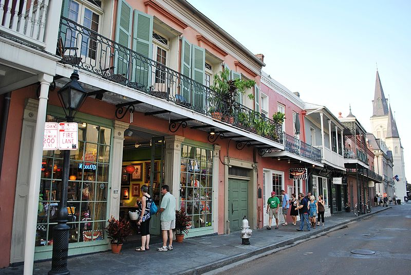 Bosque House French Quarter New Orleans