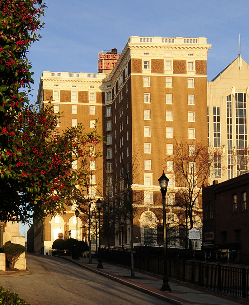 West Poinsett Hotel Greenville South Carolina