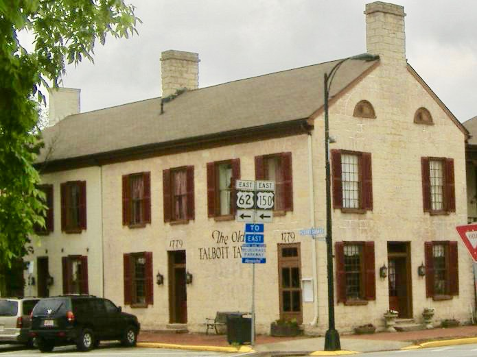 Old Talbott Tavern Bardstown Kentucky ghosts haunted