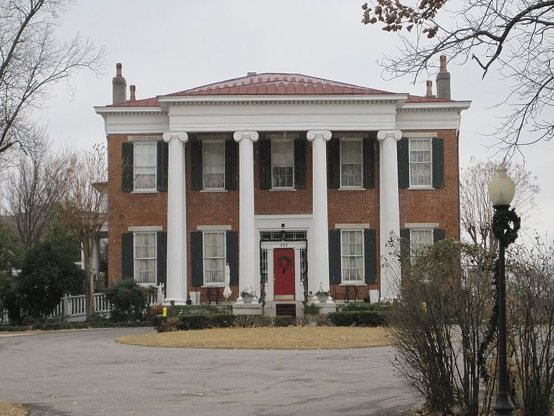 haunted Tennessee Hunt-Phelan House Memphis ghosts