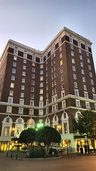Poinsett Hotel Greenville South Carolina haunted ghost