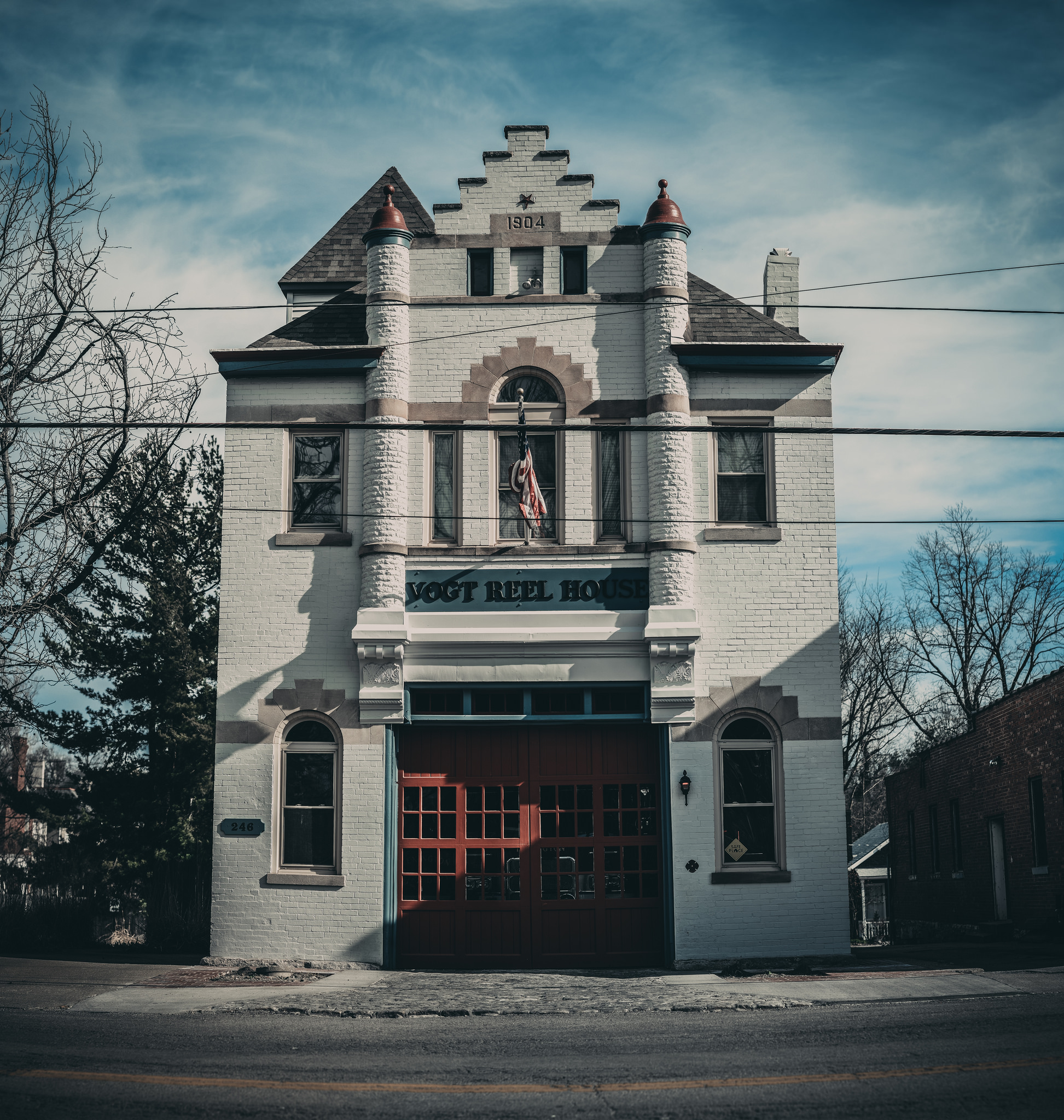 Fire Station #4 Lexington Kentucky Vogt Reel House