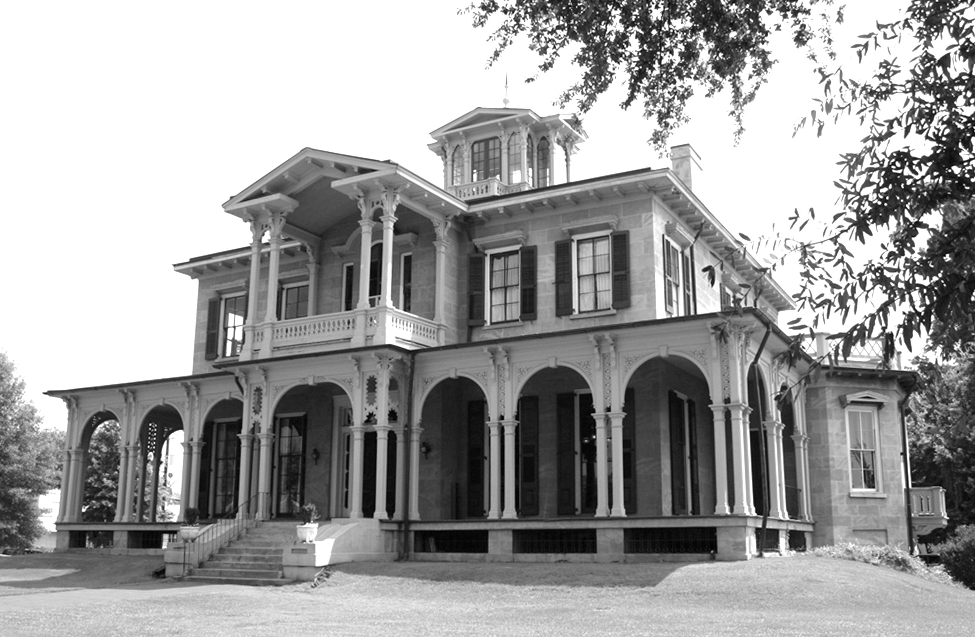 Jemison-Van de Graaf Mansion haunted ghost