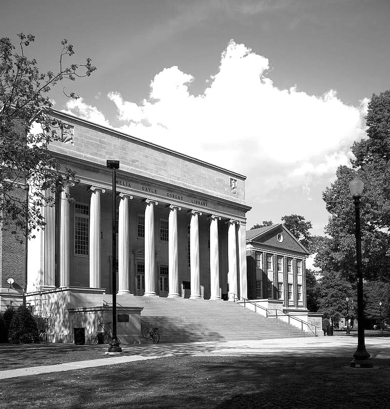Amelia Gayle Gorgas Library University of Alabama Tuscaloosa haunted library ghost