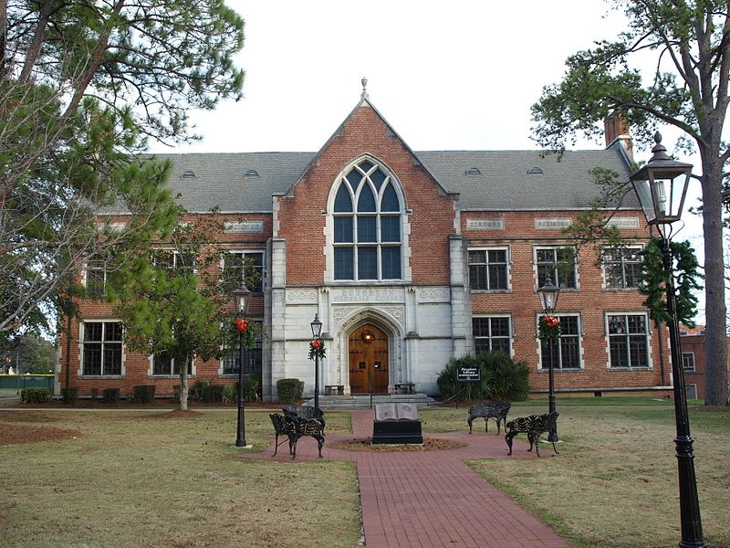 Houghton Memorial Library at Huntingdon College haunted ghost