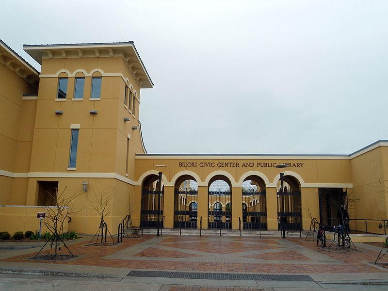 Biloxi Public Library Mississippi haunted books
