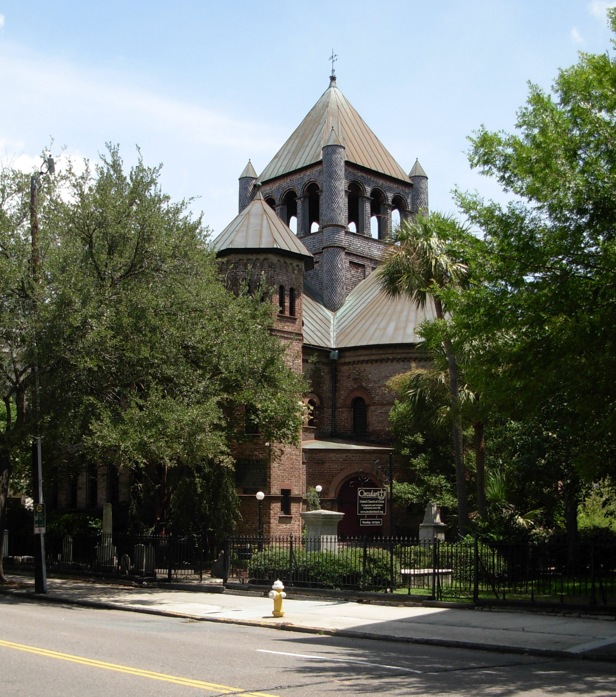 Circular Congregational Church Charleston SC ghosts haunted