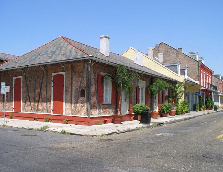 Hotel St Pierre Burgundy and Dumaine Streets French Quarter New Orleans