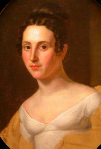Theodosia Burr Alston painted by John Vanderlyn.