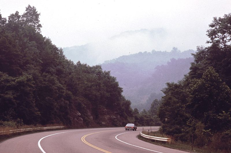 West Virginia Turnpike 1974
