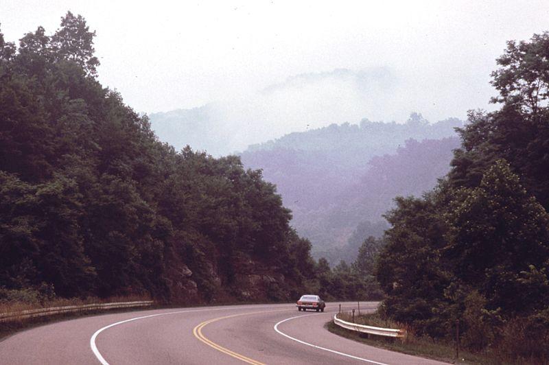West Virginia Turnpike 1974