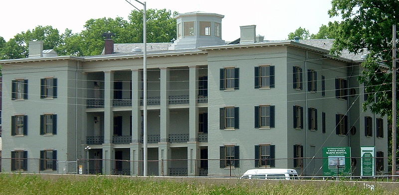 US Marine Hospital Louisville Kentucky ghosts haunted