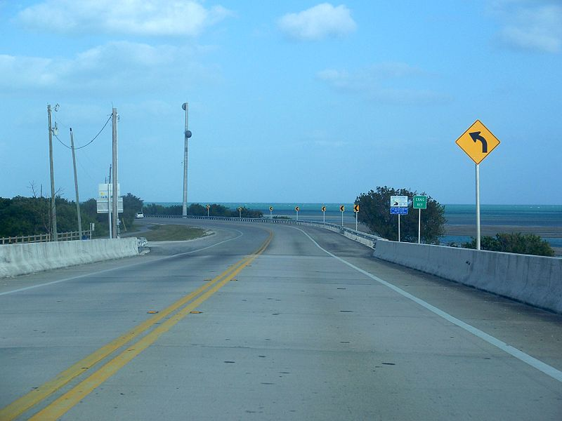 US-1 through Florida Keys