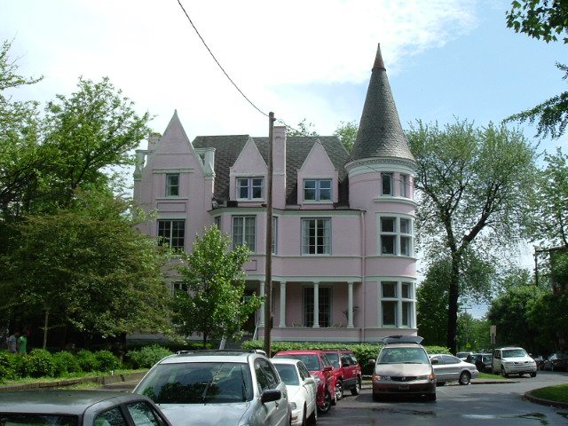 Pink Palace Old Louisville Kentucky ghosts haunted