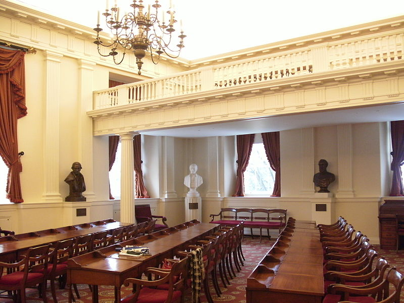Virginia State Capitol Richmond Old House of Delegates Chamber