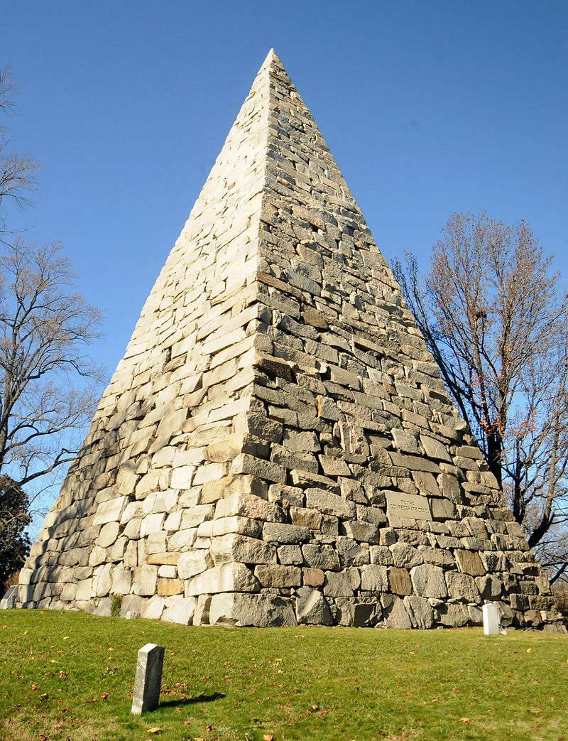 Hollywood Cemetery Richmond Virginia Confederate Pyramid
