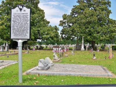 Upper Long Cane Cemetery Abbeville South Carolina haunted