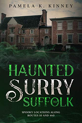 book cover Pamela Kinney Haunted Surry to Suffolk