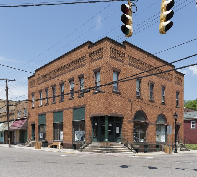 downtown building New Cumberland West Virginia