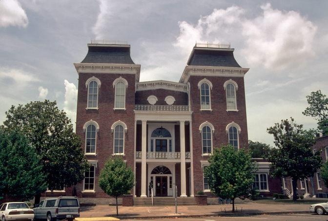 Bullock County Courthouse Union Springs Alabama