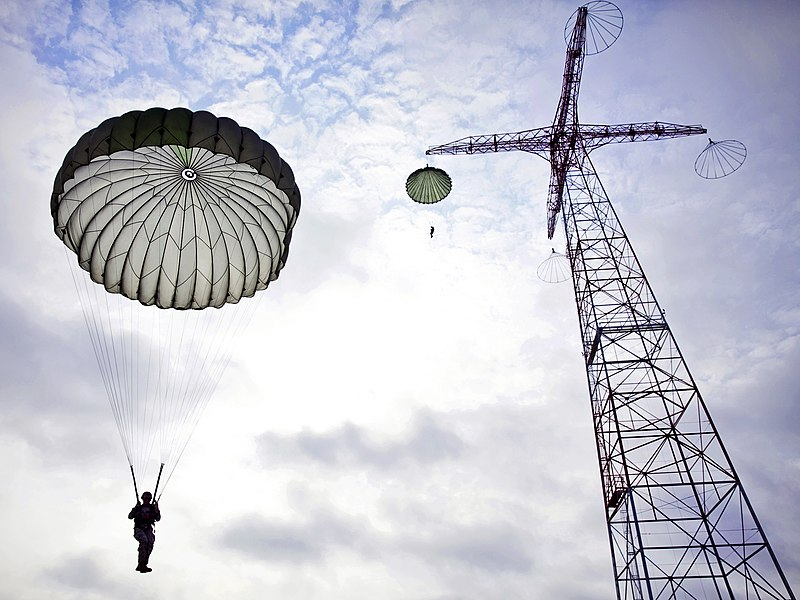 Airborne School Jump Towers Fort Benning Georgia