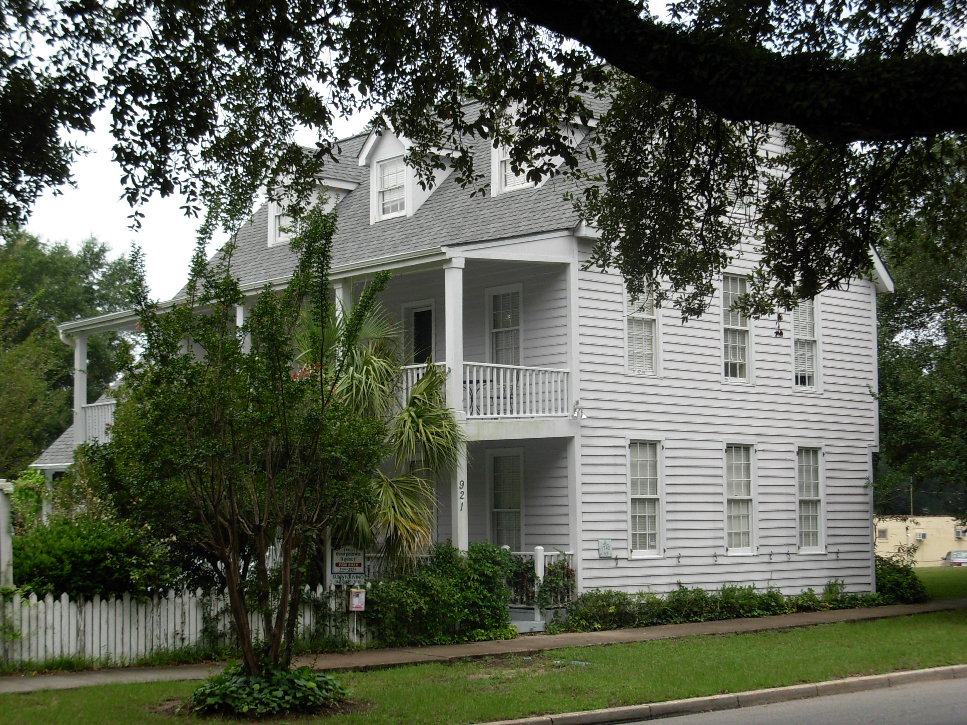 DuPre House Georgetown South Carolina ghosts haunted