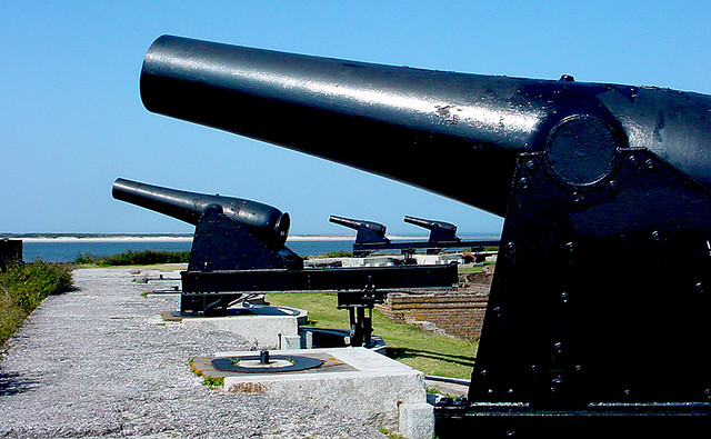 guns Fort Clinch Fernandina Beach Florida ghosts haunted