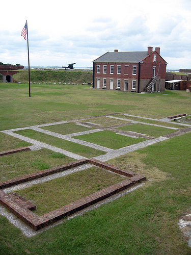 parade ground Fort Clinch Fernandina Beach Florida ghosts haunted