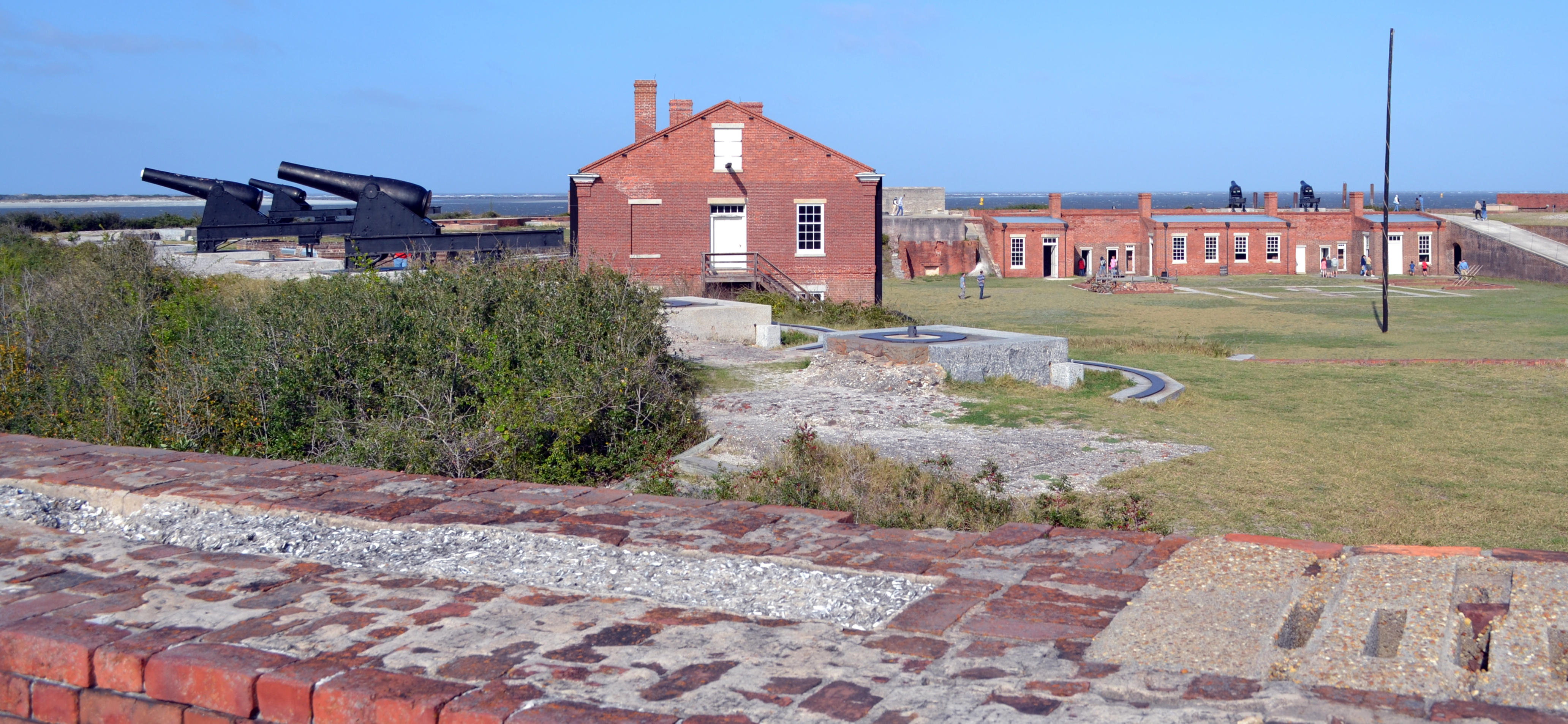 parade grounds Fort Clinch Fernandina Beach Florida ghosts haunted