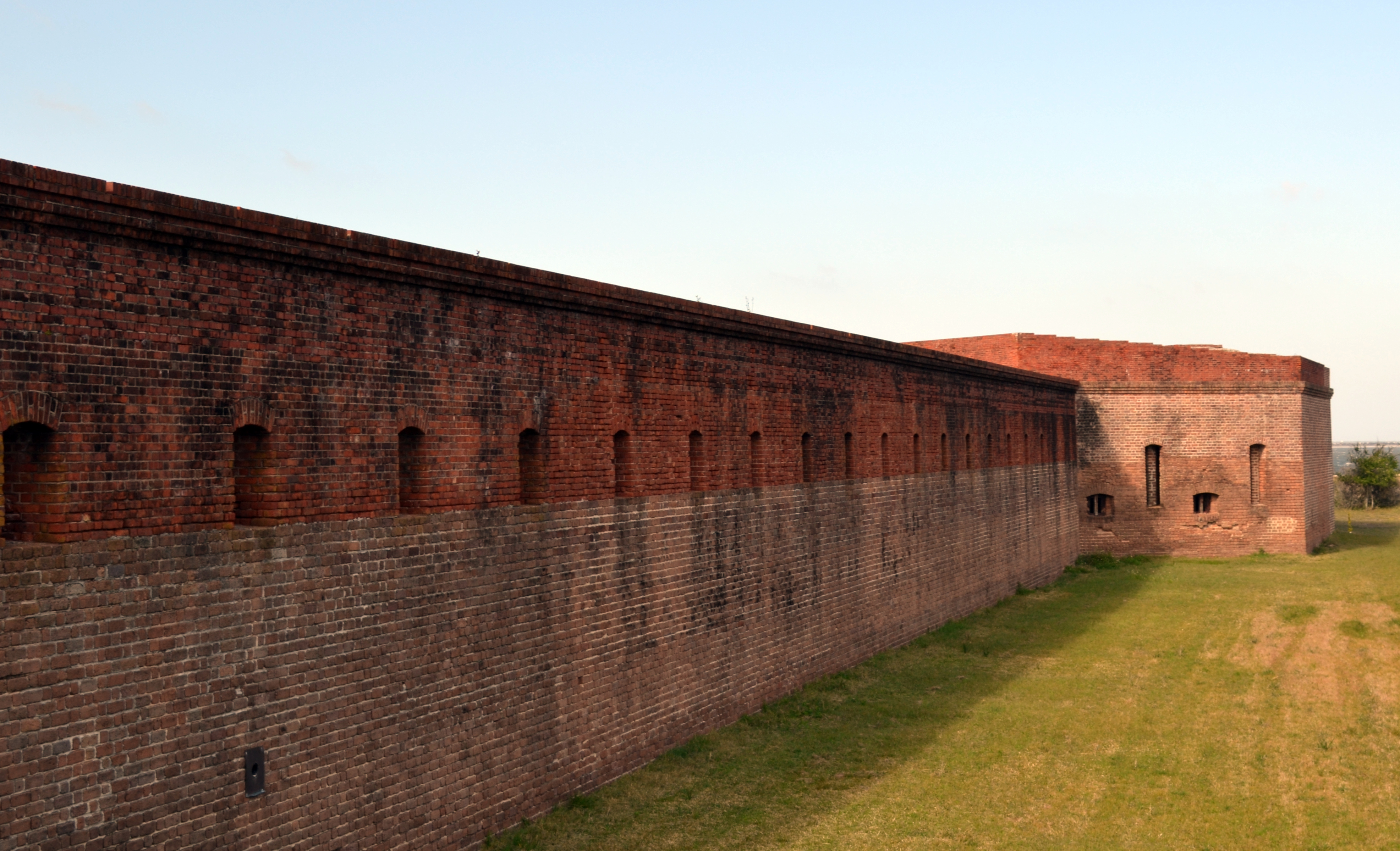 ramparts Fort Clinch Fernandina Beach Florida ghosts haunted