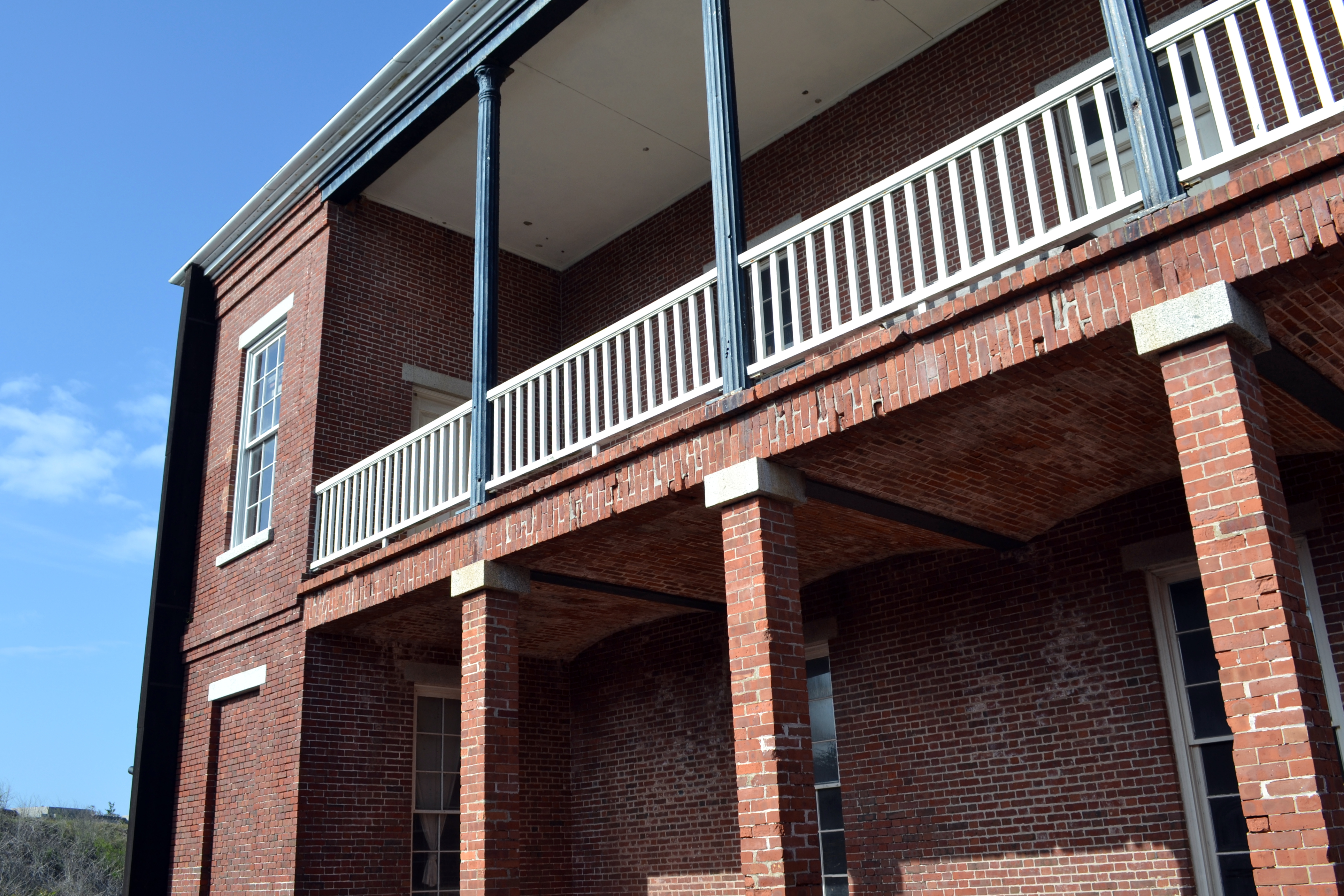 barracks Fort Clinch Fernandina Beach Florida ghosts haunted